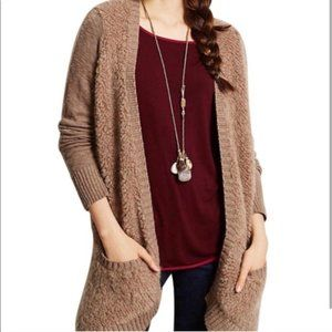 Anthropology Sleeping In Snow Cardigan